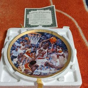 Upper Deck Wall Art - Michael Jordan collectors edition plate (1997)